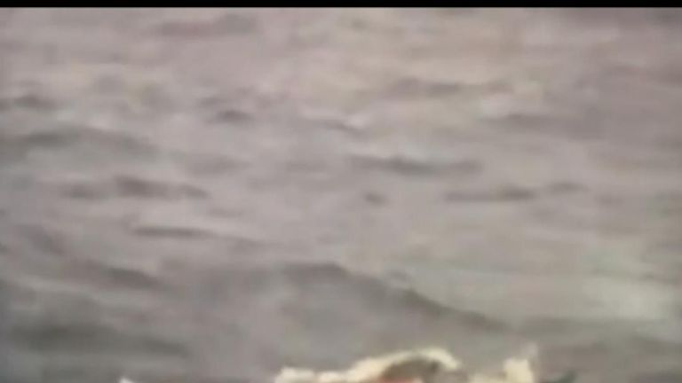 Sailor rescued during Golden Globe Race in Indian Ocean