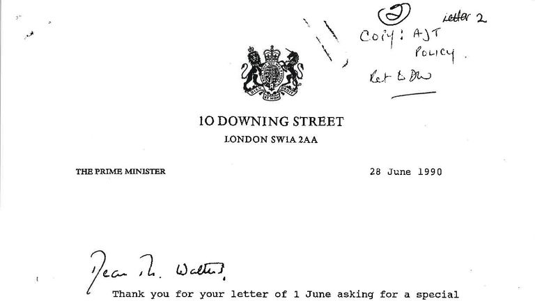Margaret Thatcher wrote that the government did not accept the tragedy was due to negligence