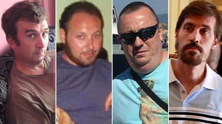 IS victims David Haines, Steve Sotloff, Alan Henning and James Foley