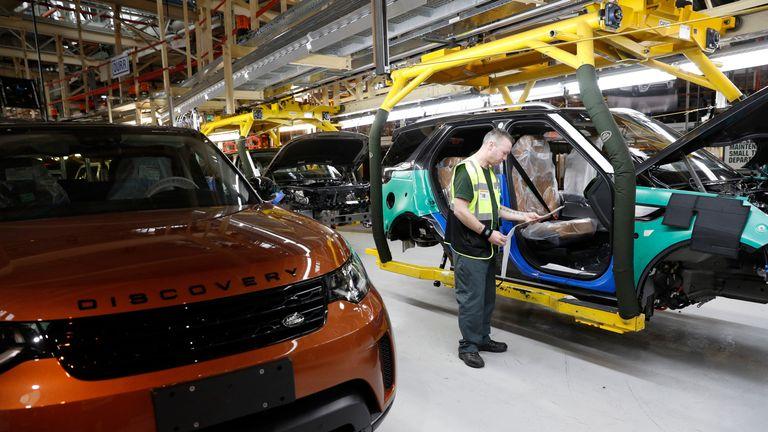Jaguar Land Rover >> Jaguar Land Rover To Slash 4 500 Jobs As Part Of 2 5bn Plan
