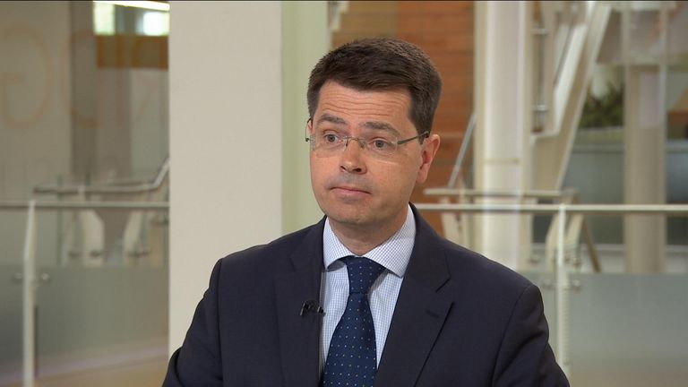 Housing and Communities secretary James Brokenshire