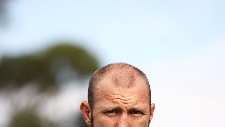 James Stannard speaks to the media during a press conference at Hitchcock Park on April 2, 2018 in Sydney, Australia.