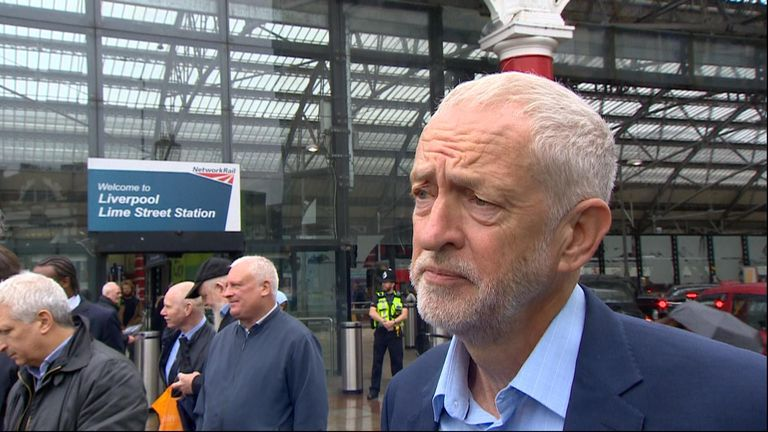 Labour Leader Jeremy Corbyn is 'sorry' regarding Veteran MP  Frank Fields resignation.