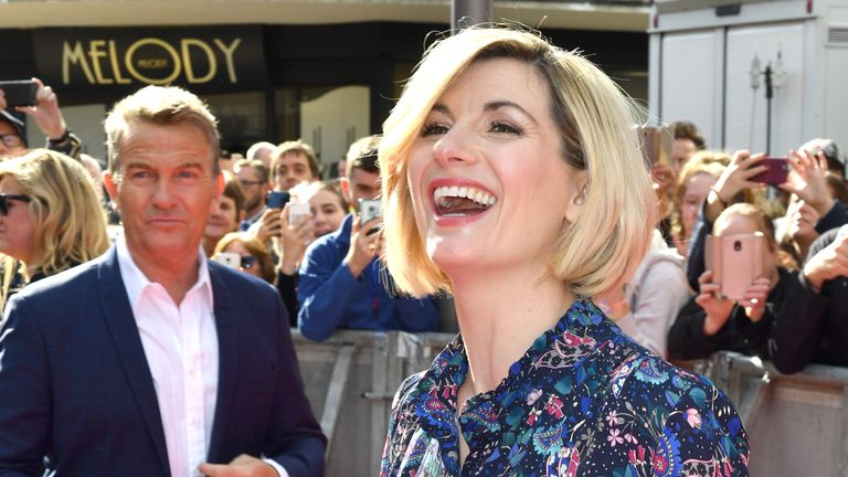 Jodie Whittaker will appear alongside Bradley Walsh in the new series