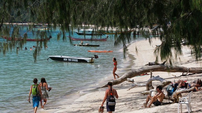 Hannah Witheridge and David Miller's bodies were found on Sairee Beach on Koh Tao