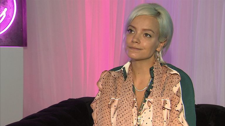 Lily Allen is nominated for the Mercury music prize