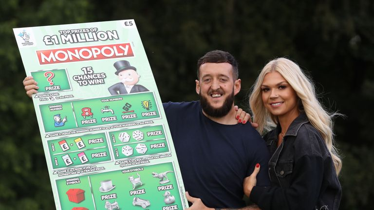 Darren Donaghey bought the scratchcard by chance while shopping