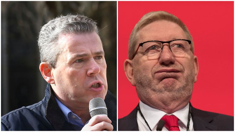 Mark Serwotka and Len McCluskey