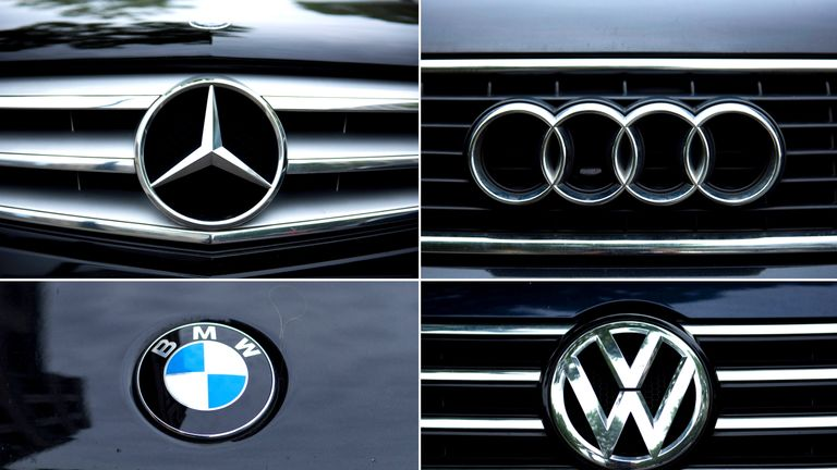 Mercedes, Audi, VW, BMW