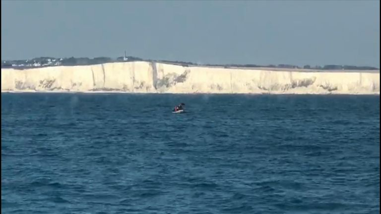Four migrants have been rescued off Dover