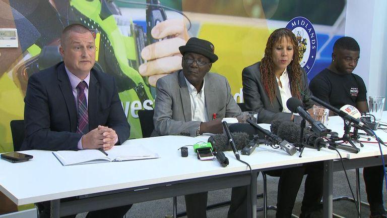 Mr Staple appealed for help in finding his grandson's killer