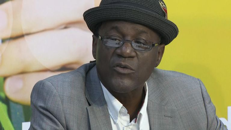 Former Specials singer Neville Staple said he was 'numb' following the death of his grandson