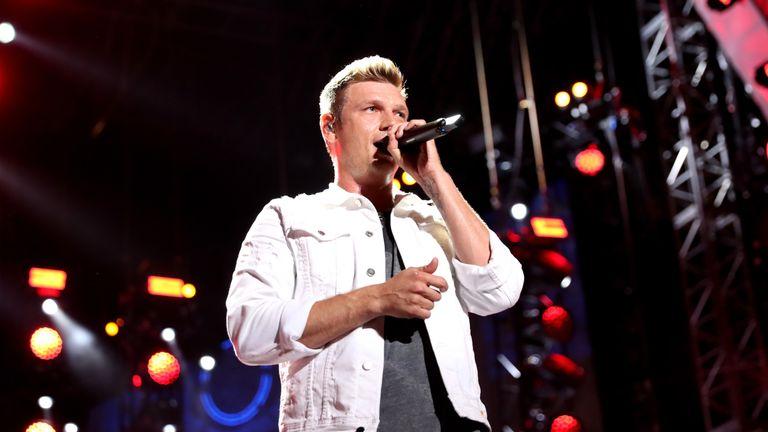 Nick Carter, 38, of music group Backstreet Boys