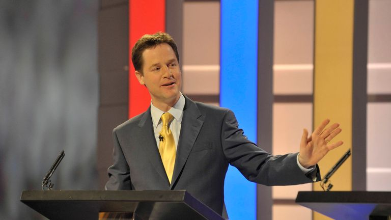 Sir Nick Clegg is backing the Make Debates Happen campaign