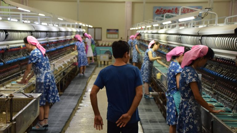 Ahead of the 70th anniversary of the country's founding, the regime has been keeping journalists occupied by taking us on tours around Pyongyang. Pics by Tom Chesh
