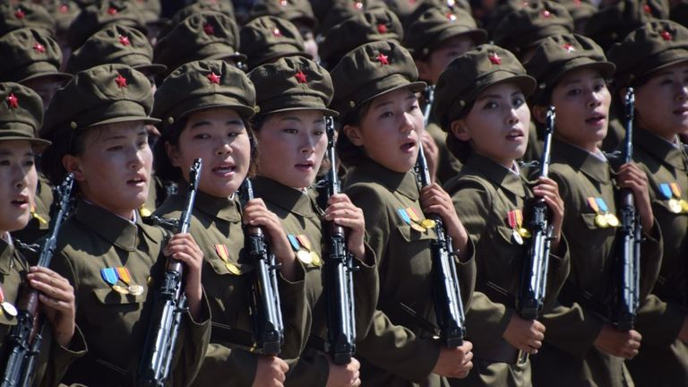 North Korea celebrates the 70th anniversary of its founding