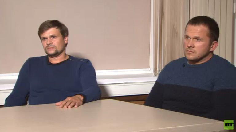 Novichok suspects. Pic: Russia Today