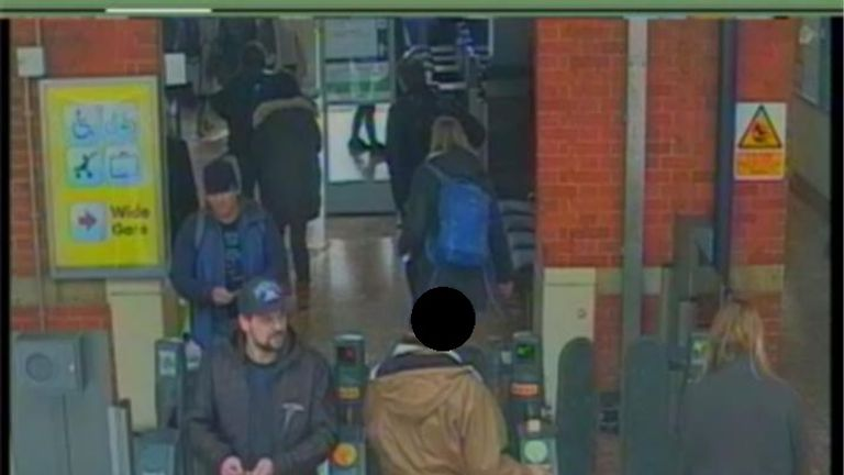 CCTV8 = image of both suspects at Salisbury train station at 13:50hrs on 04 March 2018