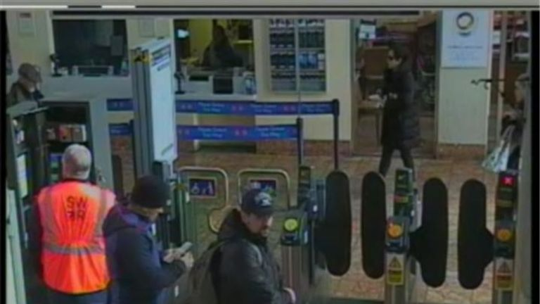 CCTV4 = image of both suspects at Salisbury train station at 11:48hrs on 04 March 2018