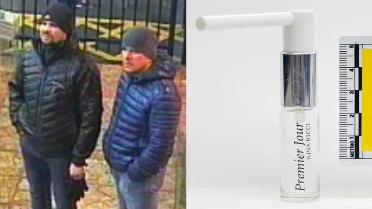 Both suspects at Salisbury train station