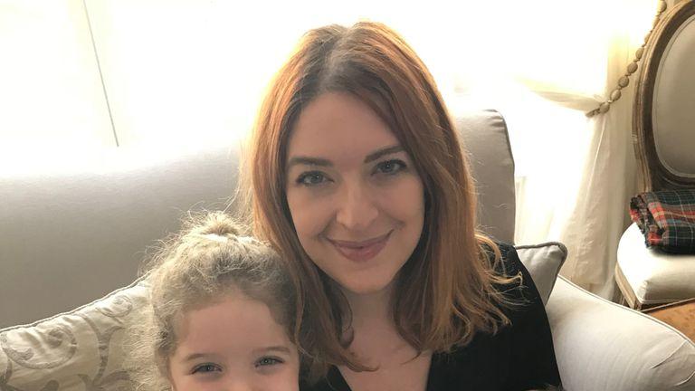 Natasha Pearlman with her children