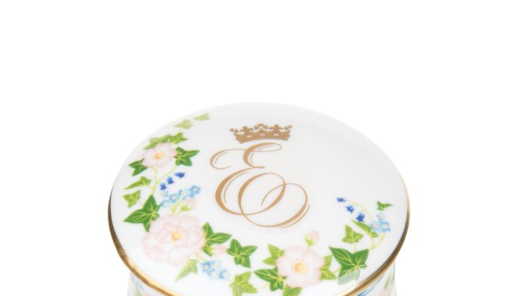 A pillbox from the commemorative range is priced at £29. Pic: Royal Collection Trust/ Her Majesty Queen Elizabeth II 2018