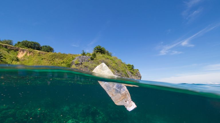 Sky Ocean Rescue has been raising awareness of the plastic plight of the world's open water