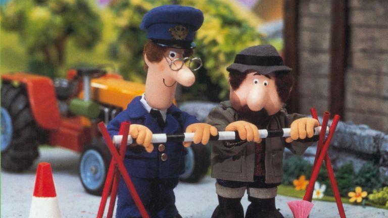 Postman Pat. Pic: Moviestore/REX/Shutterstock