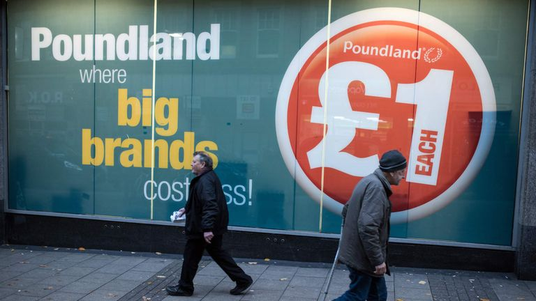 Poundland will stop selling knives by the end of October