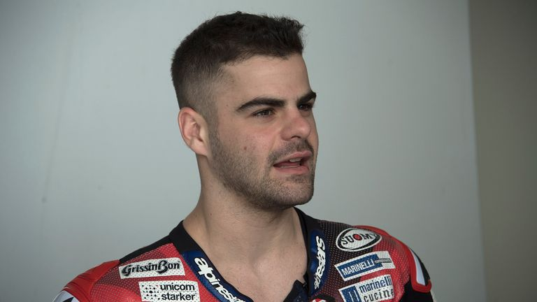 Romano Fenati, 22, has been banned for two races