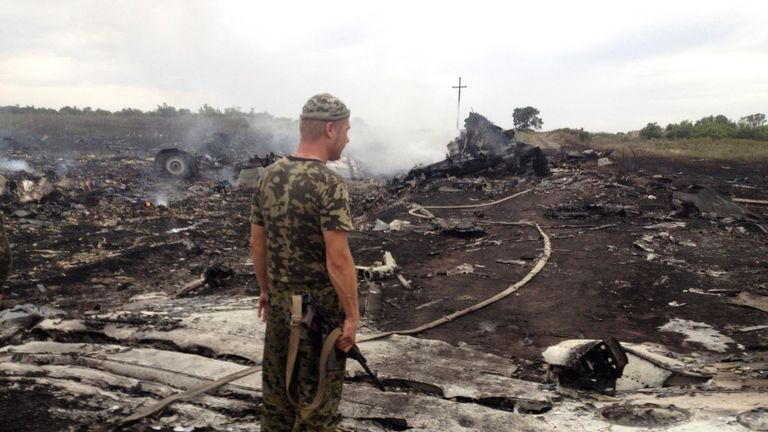 The GRU is accused of downing MH17 in 2014