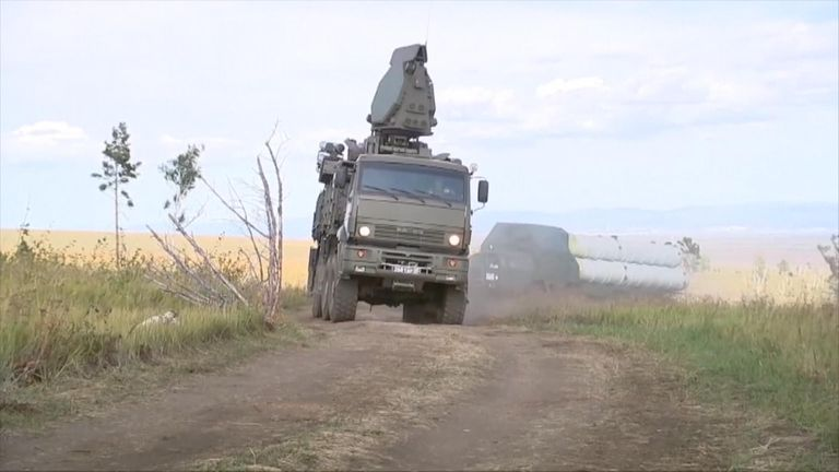 The last war games in the east of Russia were in 2014