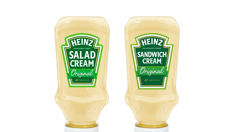 Salad Cream was close to being renamed Sandwich Cream