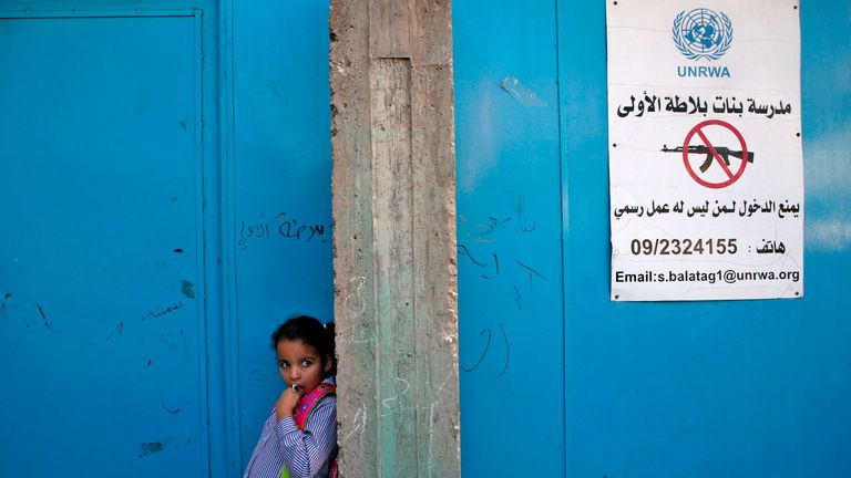 School run by UNRWA