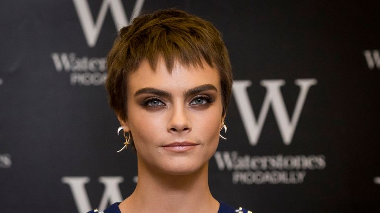 Delevingne claimed in October that disgraced movie mogul Harvey Weinstein behaved inappropriately towards her