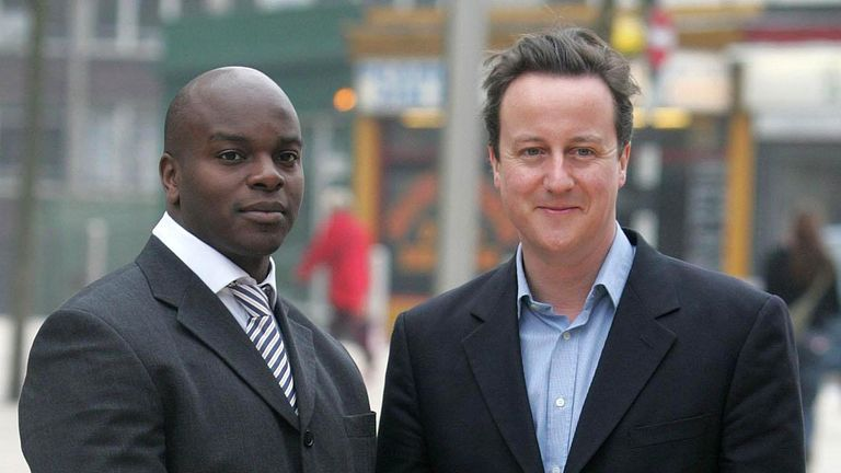 Shaun Bailey was David Cameron's youth and crime special adviser