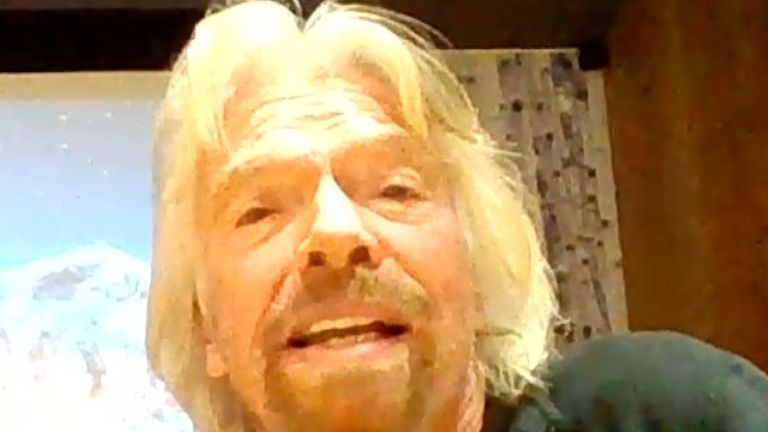 Sir Richard Branson does not support Brexit