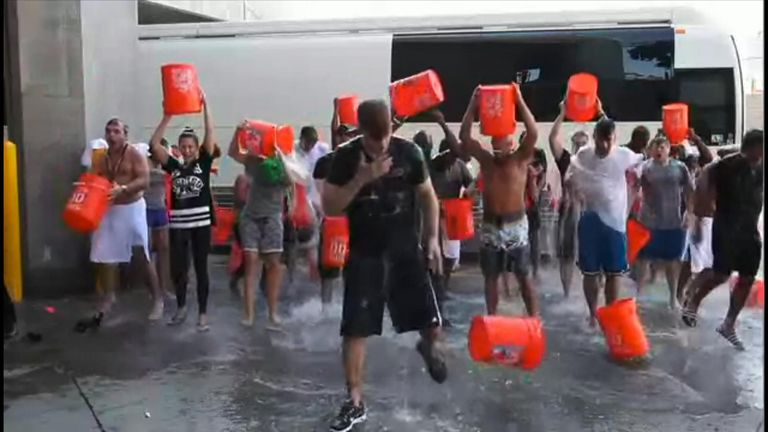 The Ice Bucket challenge raised millions of dollars for ALS in 30 days