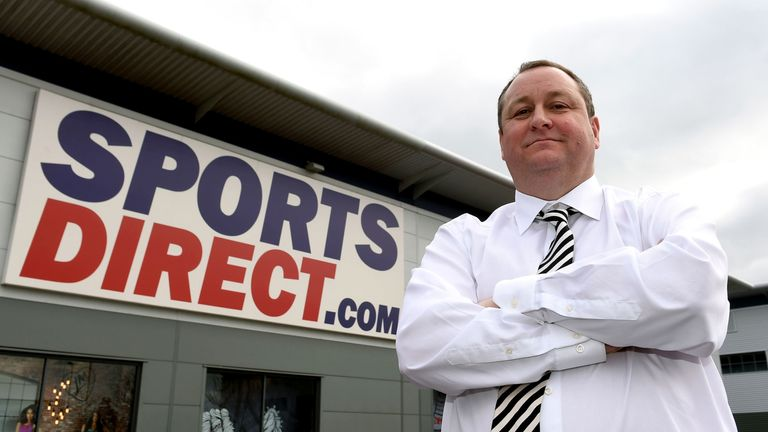 Sports Direct-Gründer Mike Ashley