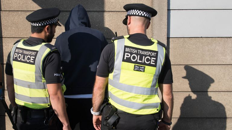 Police could get more stop and search powers. File pic