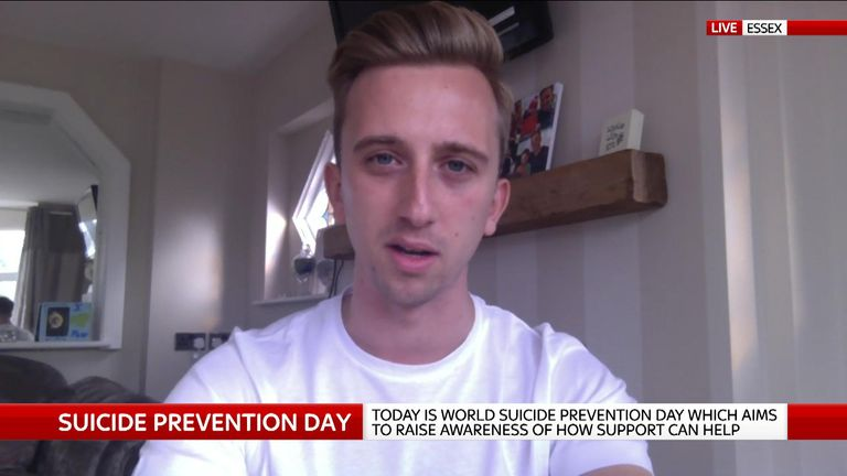Blogger and campaigner Paul McGregor talks to Sky News about suicide prevention.