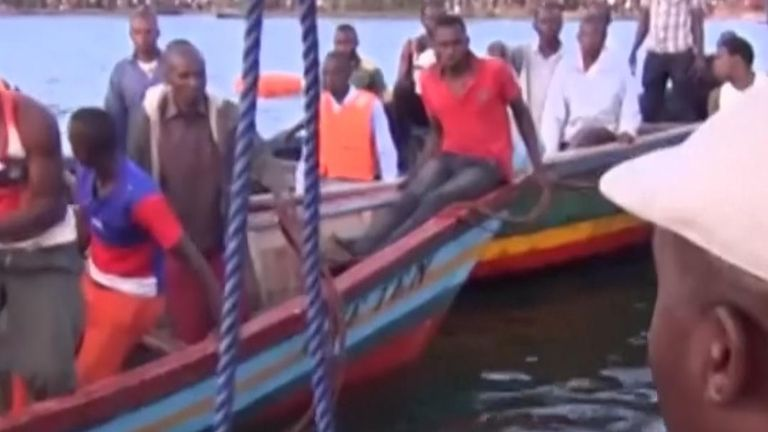 More than 200 feared dead as Tanzania ferry sinks in Lake Victoria