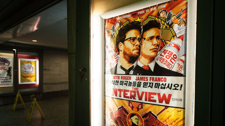 The Sony hack was believed to be retaliation for The Interview