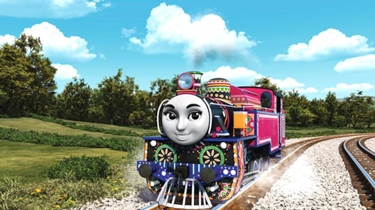 Ashima from India is one of the new characters in the revamped show