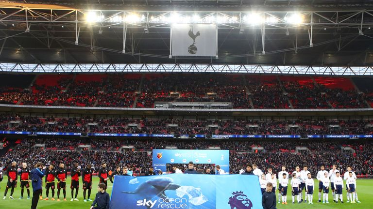 Sky Ocean Rescue was supported by the Tottenham v Watford match in April