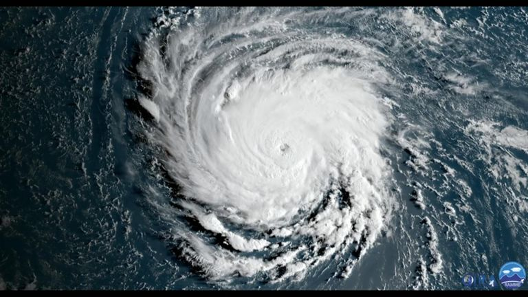 Copy Text Three tropical cyclones churned in the Atlantic Ocean on Monday, September 10, along with a disturbance in the western Caribbean that could become a tropical depression later this week.
