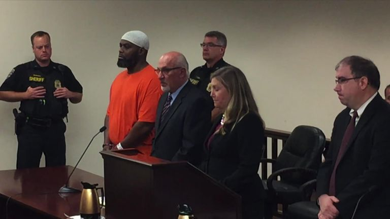 Lamarr Scott  has pleaded guilty to the murder Pic: WBFO