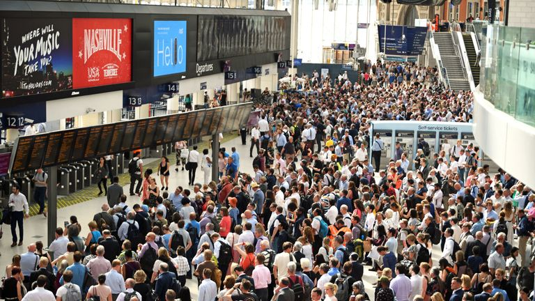 New train timetables led to severe delays for weeks earlier this year