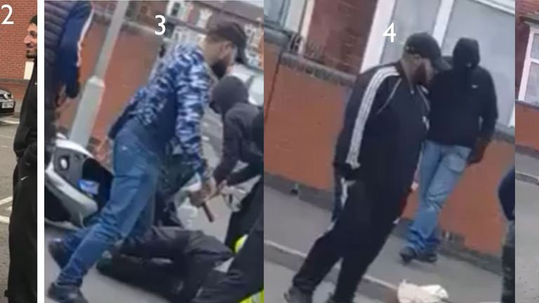 Appeal to trace men following attack on traffic warden