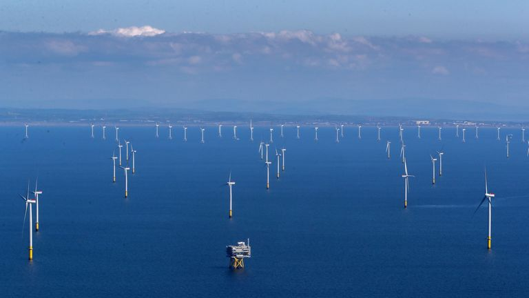 Image result for the biggest offshore wind farm in the world